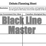 Federal Policy Debate Planning Sheet