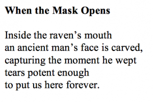 When the Mask Opens